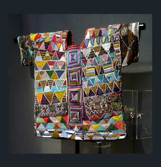 Africa | Royal tunic from the Yoruba people of Ilara Ekiti State, Nigeria | 20th century | At Douglas Dawson Gallery, Chicago