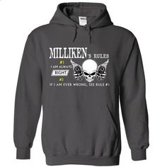 MILLIKEN RULE\S Team .Cheap Hoodie 39$ sales off 50% on - #mom shirt #unique hoodie. I WANT THIS => https://www.sunfrog.com/Valentines/MILLIKEN-RULES-Team-Cheap-Hoodie-39-sales-off-50-only-19-within-7-days.html?68278