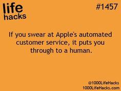 Haha. For all my Apple heads.