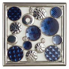 Schmücken Sie Ihren Gallery Wärmer mit dem Gallery Rahmen Dazzle mit viel Glanz und Glamour.