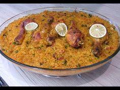 أسهل صينية أرز بالفرن بالدجاج بمذاق السمك تحفة - YouTube