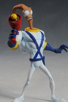 Earthworm Jim action figure by Mezco Toyz