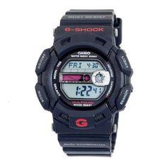Casio Mens G9100-1 G-Shock Gulfman Tide and Moon Watch