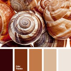 Warm soft palette. Caramel shades in combination with beige and milky create an enveloping effect. If you use such colors as a base you can design an interior of almost any room in a house, such as living room, bedroom, kitchen. It complements perfectly dark brown palette – a perfect color for doors, floors and furniture.