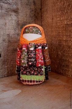 """Народные куклы ручной работы. Ярмарка Мастеров - ручная работа Куколка-СемьЯ """"Краски осени"""". Handmade."""