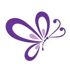 Photo of Beautiful Purple Butterfly for fans of Colors 34605238 Butterfly Clip Art, Butterfly Images, Butterfly Drawing, Butterfly Colors, Purple Butterfly Tattoo, Butterfly Stencil, Lettering, Doodle Art, Painted Rocks