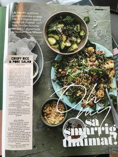 Pork Salad, Rice, Ethnic Recipes, Food, Eten, Meals, Diet