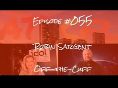 Robin Sargent on Leveling Up Off-the-Cuff Episode # 055 Instructional Design, Level Up, Robin, Idol, Language, Community, Learning, Youtube, European Robin