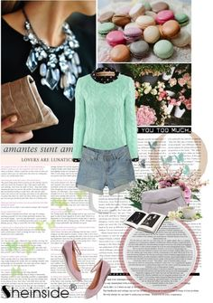 """""""Pastel spring"""" by purpleagony ❤ liked on Polyvore"""