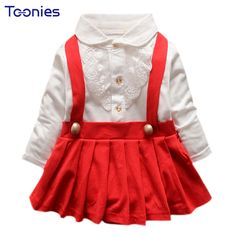 >> Click to Buy << Cute Patchwork Baby Girls Bib Dress Cotton Infant Dresses One Piece Baby Strap Clothes Spring Autumn For Casual Wear Newborn #Affiliate