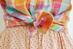#dresscolorfully plaid with a twist