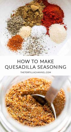 seasoning - Looking for an easy but tasty quesadilla seasoning? Take a look at this quesadilla seasoning. Easy -Quesadilla seasoning - Looking for an easy but tasty quesadilla seasoning? Take a look at this quesadilla seasoning. Homemade Dry Mixes, Homemade Spice Blends, Homemade Spices, Homemade Seasonings, Spice Mixes, Homemade Recipe, Low Carb Diets, Mexican Dishes, Mexican Food Recipes