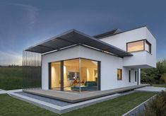 Mit 113 Quadratmetern ist dieses Haus eher kompakt gehalten,…