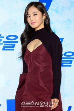 #SNSD #YuRi  Attending premiere for #YuRi's 'No Breathing'  [Image(s) credited as tagged.]