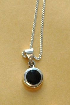 Black Onyx and 925 Silver Mexico Vintage  -