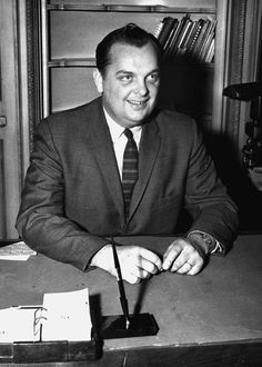 W. Allen Austill, a former colleague of Leonard Olson at the University of Chicago, was appointed as Dean of Students in May of 1957. Dean Austill was a beloved figure at the Oyster Bay campus, for he was a strong advocate for students' rights (credit: University Archives, Stony Brook University).