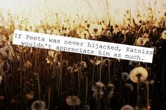 Hunger Games... Maybe Peeta didn't need to be hijacked, because it wouldn't have changed Gale's actions.