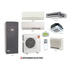The Mitsubishi Mini Split Heat Pump System is the right choice for applications needing 2 air handlers that can run off one Heat Pump.Best of all you can mix and match the indoor air handler Refrigeration And Air Conditioning, Heat Pump System, Split Design, Deck Builders, Swimming Pool Designs, Decks And Porches, Tiny House Plans, Heating And Cooling, Heating Systems