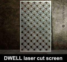 Decorative laser cut screens and laser cut panels. Bespoke laser cut metal fretwork designs made in the UK. Laser Cut Screens, Laser Cut Panels, Laser Cut Metal, Laser Cutting, Art Deco Wall Art, Art Deco Mirror, Art Deco Furniture, Steel Furniture, Gaudi