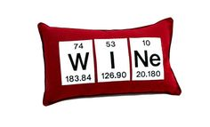 Wine  Periodic Table Chemical Element  by YellowBugBoutique