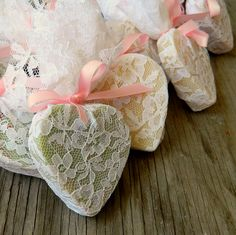 Wedding Favour / Heart Soap Favor / Wedding Shower Favors as seen in Wedding Chicks Blog / Rustic Wedding Favor / Qty 100. $175.00, via Etsy.