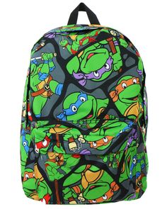 Age Mutant Ninja Turtles Backpack From Jeen Saved To Tees In