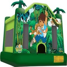 Go Diego Go Theme Jumper Bouncer rental Go Theme, Theme Ideas, Go Diego Go, Indoor Birthday, Inflatable Bounce House, Bounce House Rentals, Party Themes For Boys, Boy Birthday Parties, 3rd Birthday