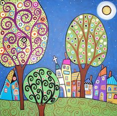 Night Town by karlagerard, via Flickr