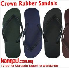 Visit- http://www.hanyaw.com.my/Products/Crown_Rubber_Sandals_CH-117.html