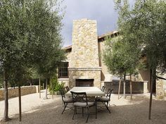 Tuscan Villa - mediterranean - patio - other metro - by Taylor Lombardo Architects