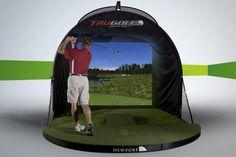 Home Golf Simulator - lifestylerstore - http://www.lifestylerstore.com/home-golf-simulator/