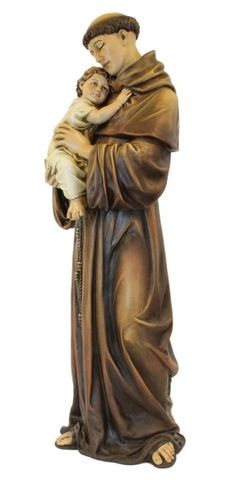 St. Anthony Statue 37 inch - Multi-Color