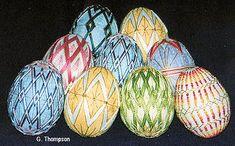Temari Eggs