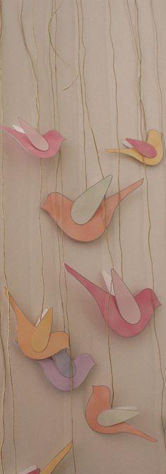 pássaros decorativos