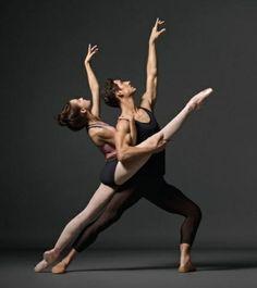 Lauren Lovette & Justin Peck www.theworlddances.com #ballet #dance