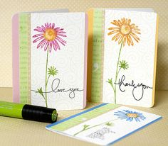 Stamping with markers tutorial with @Jenn L McGuire