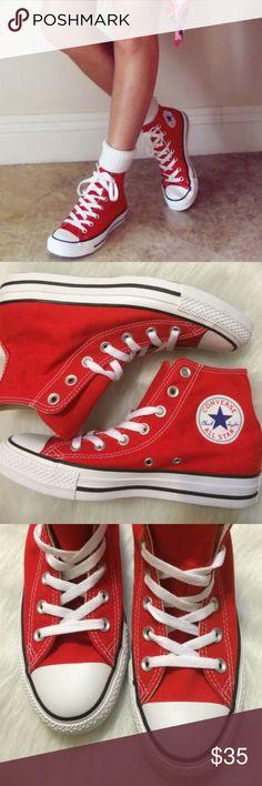 Converse chuck taylors womens red nwt 03441508c2