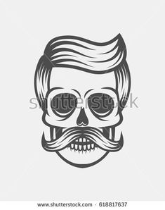 Find Hipster Skull Mustache Glasseswhite Background stock images in HD and millions of other royalty-free stock photos, illustrations and vectors in the Shutterstock collection. Thousands of new, high-quality pictures added every day. Skull Logo, Mustache, Skulls, Royalty Free Stock Photos, Hipster, Tattoo, Illustration, Hair, Fictional Characters