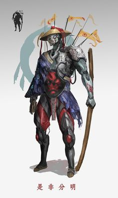 character design, Yuechi Lee on ArtStation at https://www.artstation.com/artwork/ezOwD