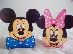 Cofre Mickey e Minie