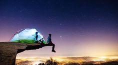 キャンピングカーを改造して旅にでた。そこには見たことのない景色が広がっていた・・・(画像17枚)#AmazingPicture #Camping #nature