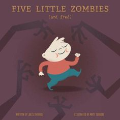 Five Little Zombies and Fred @ niftywarehouse.com #NiftyWarehouse #Zombie #Horror #Zombies #Halloween