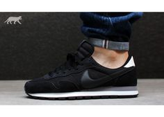 Nike Air Pegasus 83 (Black / Night Stadium - Summit White - Black) - Vintage Look - Sneaker | asphaltgold