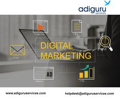 Are you looking for best digital marketing services? Adiguru services offers you the best and cost-effective digital marketing services for any kind of online business needs. Online Marketing Services, Social Media Services, E-mail Marketing, Seo Services, Social Media Marketing, Google Ads, Competitor Analysis, Online Sales, Search Engine Optimization