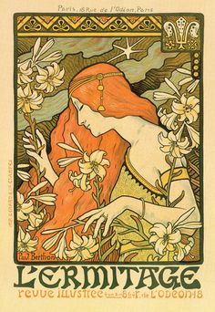 Risultati immagini per Alphonse Mucha Art Nouveau by Roy Guadalupe Illustration Photo, Illustration Art Nouveau, Art Nouveau Poster, Illustrations, Retro Poster, Vintage Posters, Vintage Art, Vintage Bohemian, Vintage Images