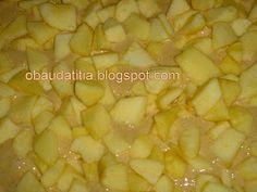 O Baú da Titia: Bolo de maçã com canela