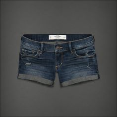 The Kylie short features hand-done distressing, rolled cuffs, and a cute midi fit.  want these so bad!!