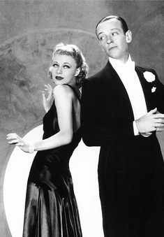 Ginger Rogers & Fred Astaire in Roberta (1935)