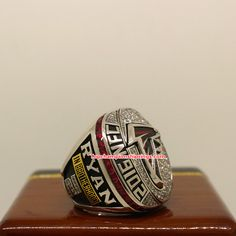 2016 Atlanta Falcons NFC Football Championship Ring [NFCT2016] - $186.00 : Championship Rings, Atlanta Falcons, National Football League, Carolina Panthers, Super Bowl, Two By Two, National Soccer League