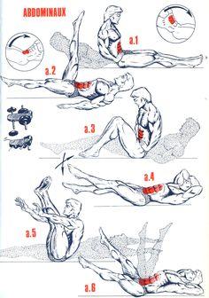 exercice musculation fessier - Recherche Google